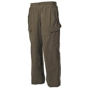Kalhoty POLY TRICOT ZELENÉ