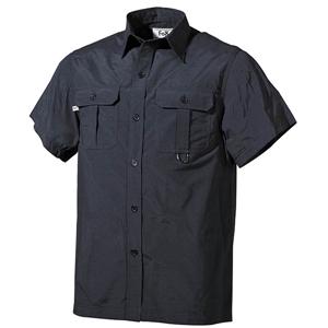 Košile OUTDOOR krátký rukáv ÈERNÁ