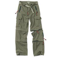Kalhoty TREKKING ZELENÉ
