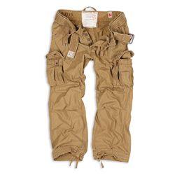 Kalhoty PREMIUM VINTAGE KHAKI - zvìtšit obrázek