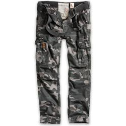 Kalhoty PREMIUM SLIMMY BLACK CAMO