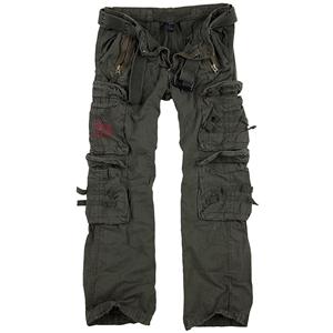 Kalhoty ROYAL TRAVELER ZELENÉ