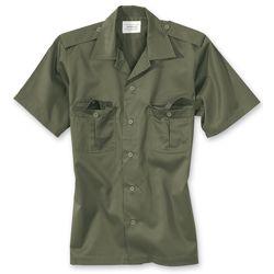 Košile US HEMD s krátkým rukávem ZELENÁ