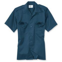 Košile US HEMD s krátkým rukávem NAVY