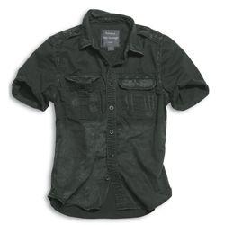 Košile RAW VINTAGE s krátkým rukávem ÈERNÁ