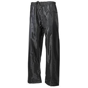 Kalhoty nepromokavé polyester s PVC ZELENÉ