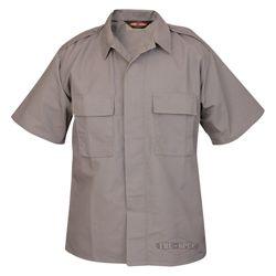 Košile služební krátký rukáv rip-stop ŠEDÁ