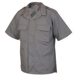 Košile služební krátký rukáv rip-stop TMAVÌ ŠEDÁ