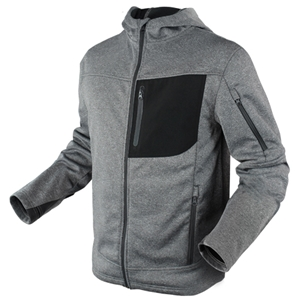 Mikina CIRRUS TECHNICAL FLEECE na zip ŠEDÁ