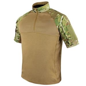 Košile taktická COMBAT krátký rukáv MULTICAM