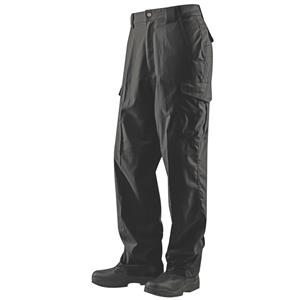 Kalhoty 24-7 ASCENT micro rip-stop ÈERNÉ