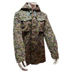 Bunda RAKOUSKÁ s kapucí K4 tarn AUSTRIA CAMO použitá