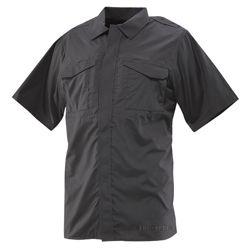 Košile 24-7 UNIFORM krátký rukáv rip-stop ÈERNÁ