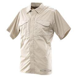 Košile 24-7 UNIFORM krátký rukáv rip-stop KHAKI
