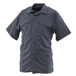 Košile 24-7 UNIFORM krátký rukáv rip-stop MODRÁ