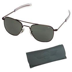 Brýle pilotní US AIR FORCE originál 57mm ÈERNÉ