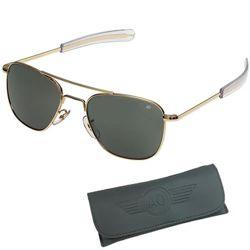 Brýle pilotní US AIR FORCE originál 57mm ZLATÉ