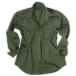 Košile US ARMY na knoflíky ZELENÁ