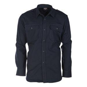 Košile polní na knoflíky rip-stop MODRÁ