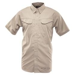 Košile 24-7 FIELD krátký rukáv rip-stop KHAKI