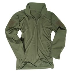 Košile taktická  s límeèkem ZELENÁ
