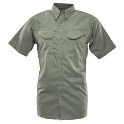 Košile 24-7 FIELD krátký rukáv rip-stop ZELENÁ