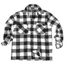 Košile DØEVORUBECKÁ na knoflíky BÍLOÈERNÁ