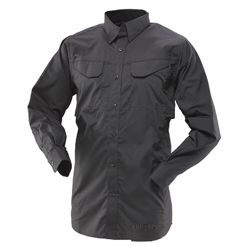 Košile 24-7 FIELD dlouhý rukáv rip-stop ÈERNÁ