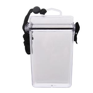 Pouzdro vodotìsné SPORT plastové PRÙHLEDNÉ