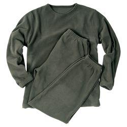 Spodní prádlo THERMOFLEECE bez límeèku ZELENÉ