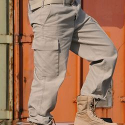 Kalhoty BW typ moleskin pøedeprané KHAKI