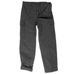 Kalhoty BW typ moleskin zateplené ÈERNÉ