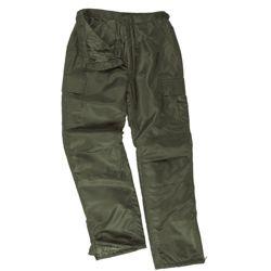 Kalhoty US MA1 THERMO zateplené ZELENÉ