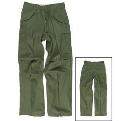 Kalhoty US M65 originál TEESAR nové ZELENÉ