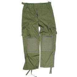 Kalhoty LIGHT WEIGHT s nákoleníky ZELENÉ