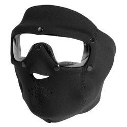 Maska celooblièejová BASIC NEOPREN s èirými brýlemi ÈERNÁ