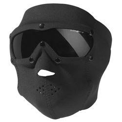 Maska celooblièejová BASIC NEOPREN s brýlemi ÈERNÁ
