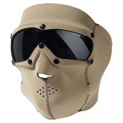 Maska celooblièejová BASIC NEOPREN s brýlemi COYOTE