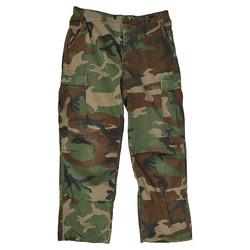 Kalhoty US BDU polní WOODLAND použité