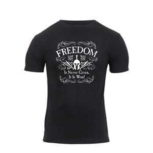 Triko ATHLETIC FIT FREEDOM krátký rukáv ÈERNÉ