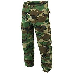 Kalhoty US typ ACU rip-stop WOODLAND