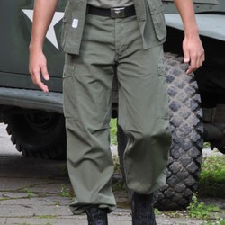 Kalhoty M64 VIETNAM  ZELENÉ