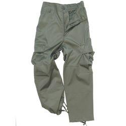 Kalhoty d�tsk� US BDU ZELEN�