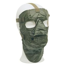Maska oblièejová US zateplená ZELENÁ použitá