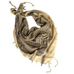 Šátek SHEMAGH KHAKI-ÈERNÝ - zvìtšit obrázek