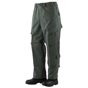 Kalhoty TRU P/C rip-stop ZELENÉ
