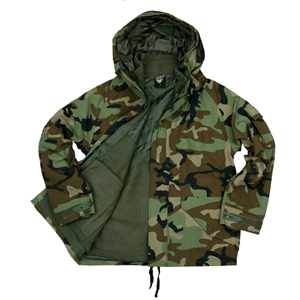 Bunda/parka s fleece vložkou WOODLAND