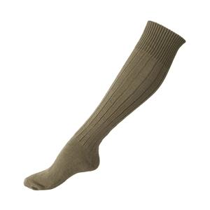 Ponožky podkolenky BW zimní ZELENÉ