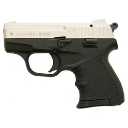 Pistole plynová ATAK ZORAKI 906 cal. 9mm SATÉN