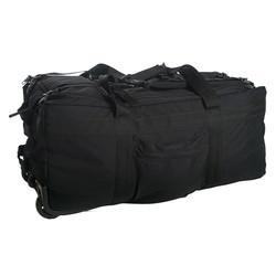 Taška / batoh na koleèkách ÈERNÁ